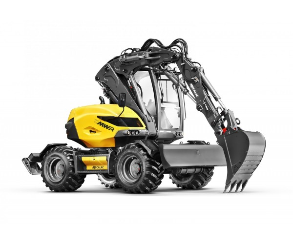 Excavator multifunctional pe pneuri Mecalac 11MWR