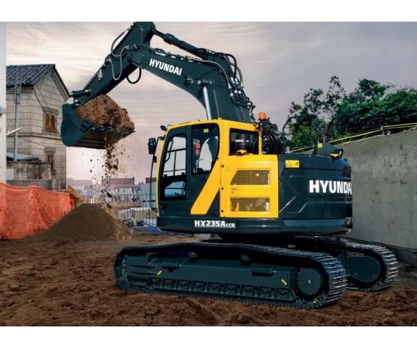 Excavator pe senile Hyundai HX 235A LCR