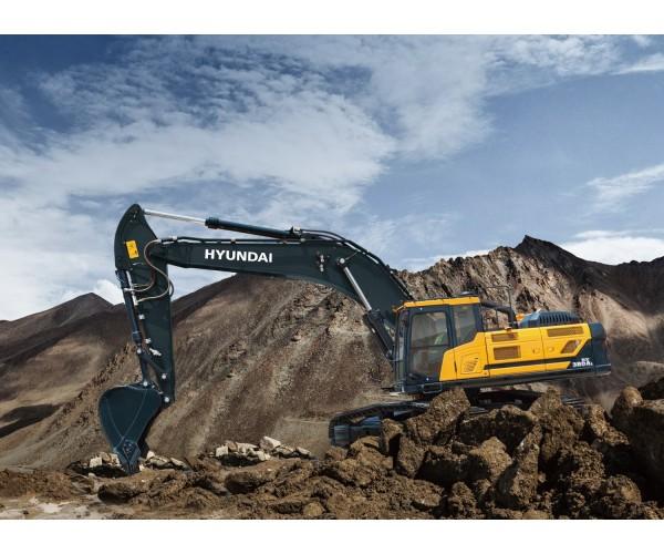 Excavator pe senile Hyundai HX 380A L