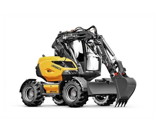 Excavator multifunctional pe pneuri Mecalac 7MWR