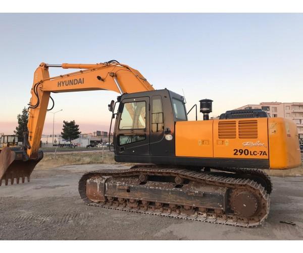 Excavator Hyundai Robex 290LC-7A
