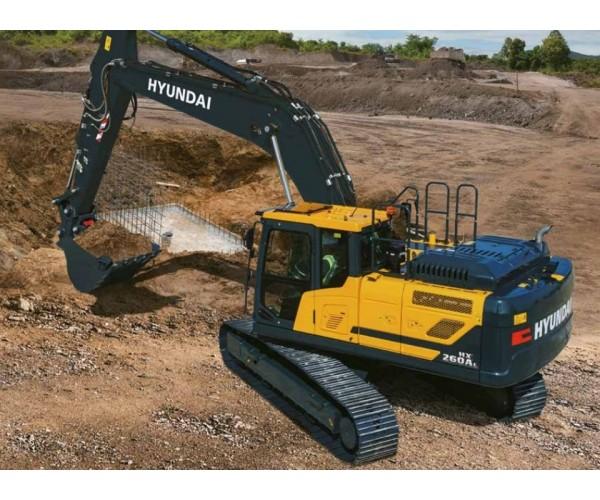 Excavator pe senile Hyundai HX 260 AL