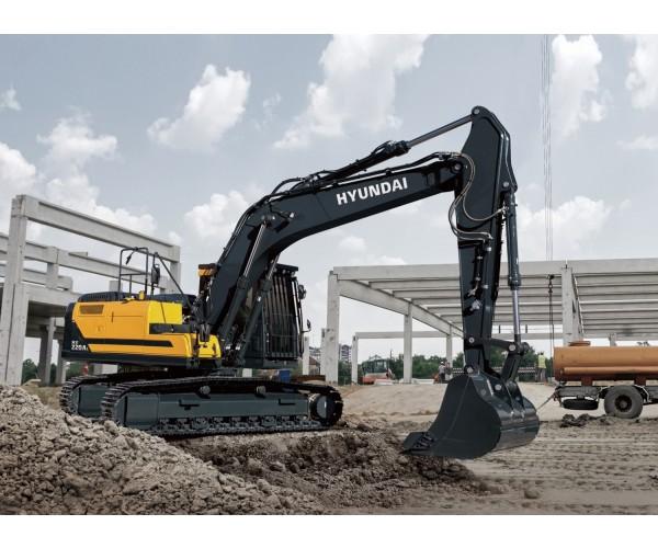 Excavator pe senile Hyundai HX 220AL