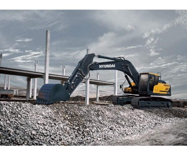 Excavator pe senile Hyundai HX 300AL
