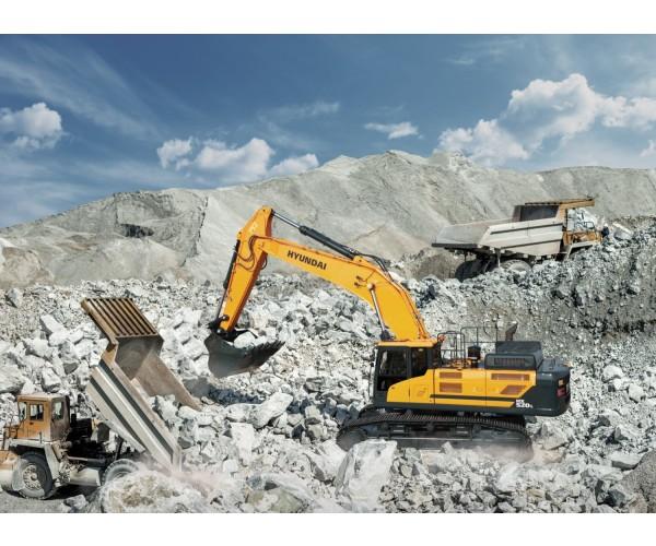 Excavator pe senile Hyundai HX 520