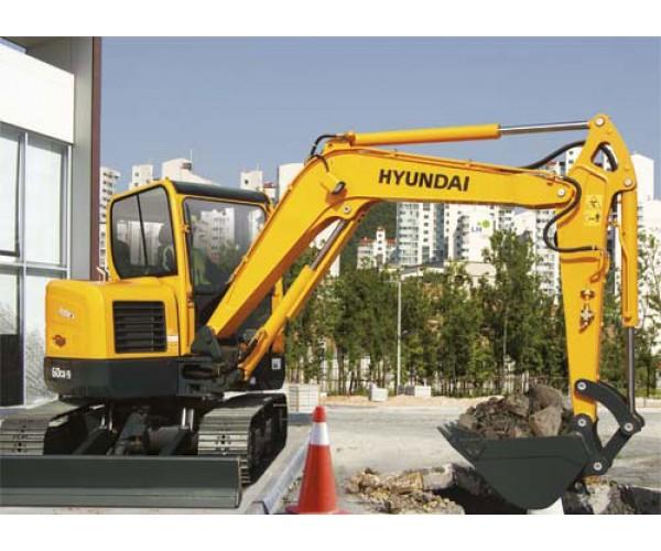 Miniexcavator Hyundai R60CR-9A