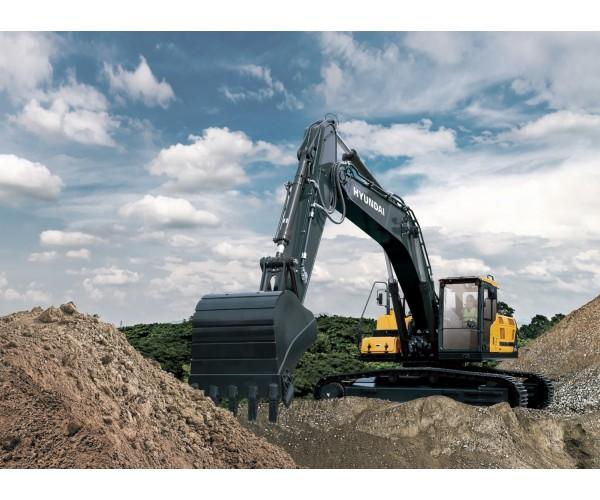 Excavator pe senile Hyundai HX 330 AL