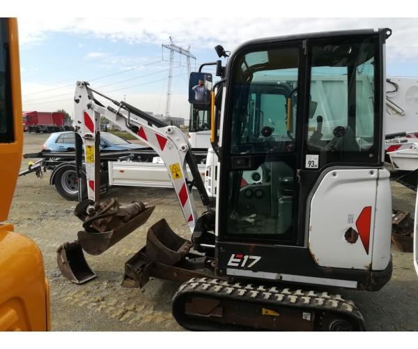 Miniexcavator Bobcat E17