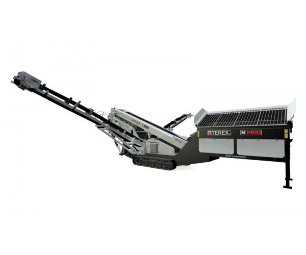 Statie mobila de sortare cu spalare Terex M 1400