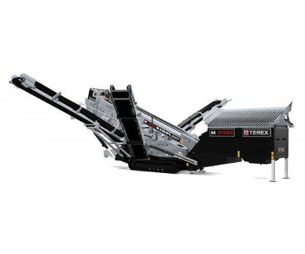 Statie mobila de sortare cu spalare Terex M 1700
